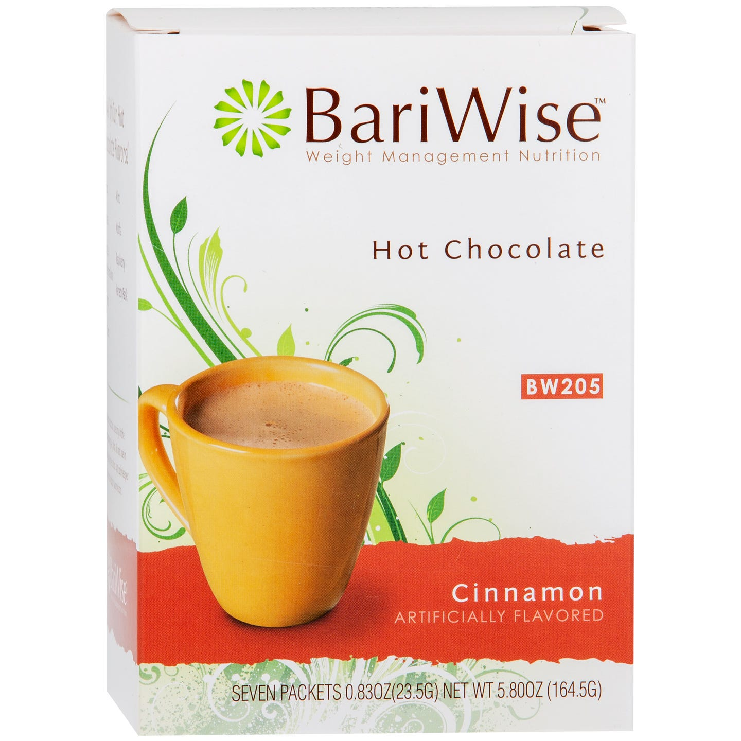 Protein Diet Hot Chocolate Cinnamon (7 Ct) - BariWise