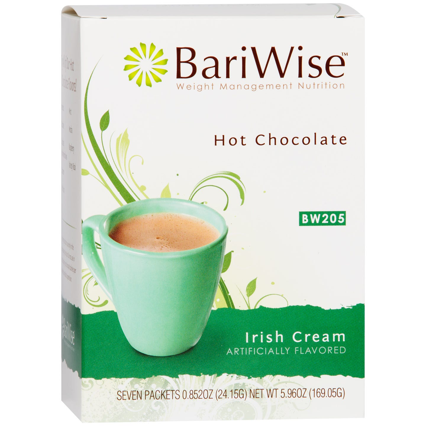 Protein Diet Hot Chocolate Irish Cream (7 ct) - BariWise - Rapid Diet Weight Loss Products Shop
