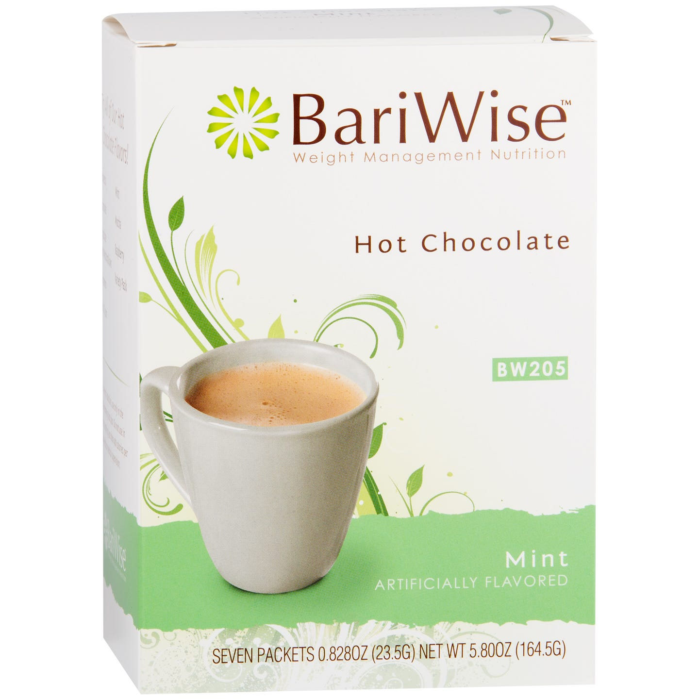 Protein Diet Hot Chocolate Mint (7 ct) - BariWise - Rapid Diet Weight Loss Products Shop