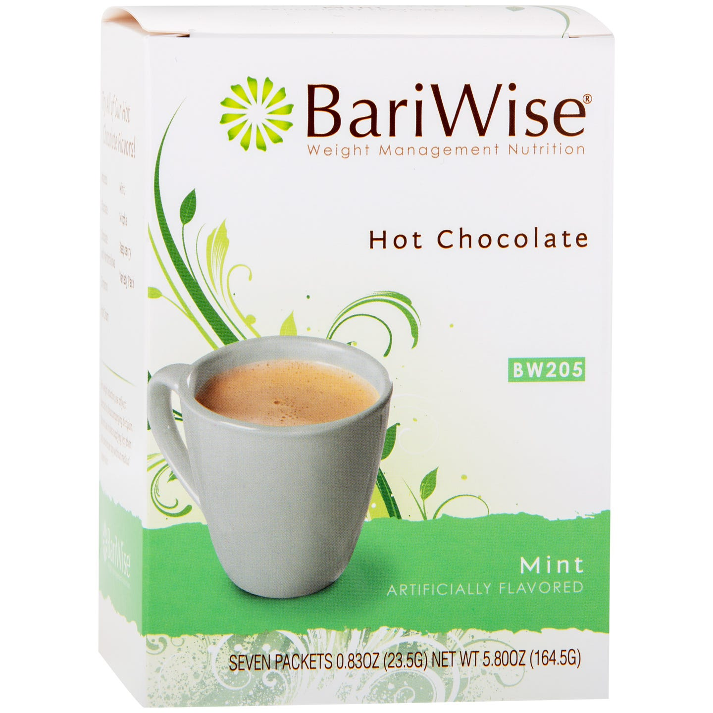 Protein Diet Hot Chocolate Mint (7 Ct) - BariWise