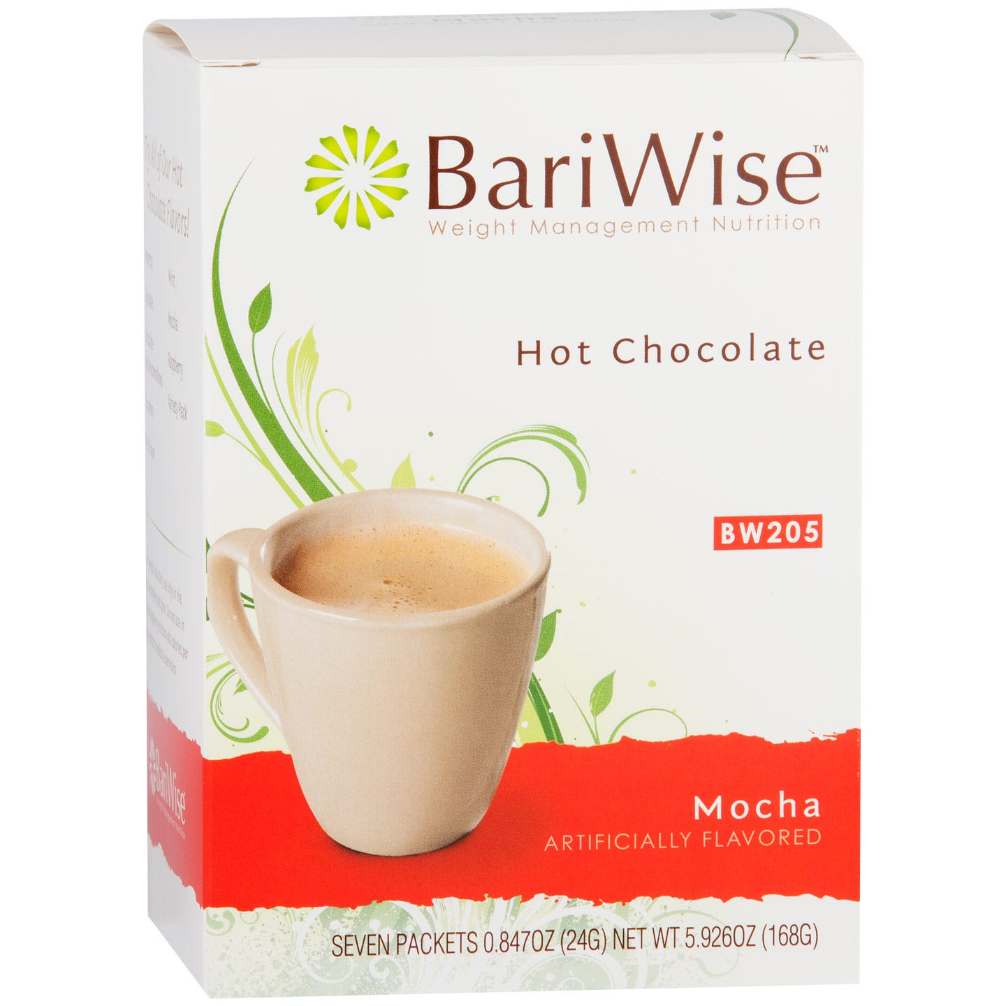 Protein Diet Hot Chocolate Mocha (7 ct) - BariWise - Rapid Diet Weight Loss Products Shop