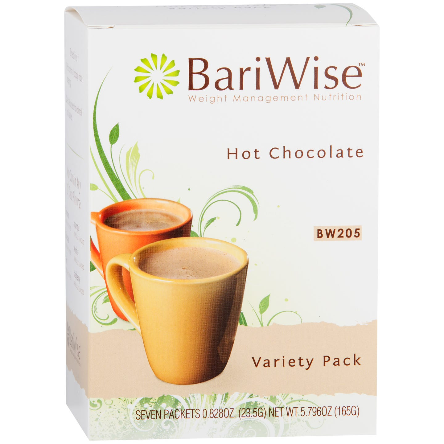 Protein Diet Hot Chocolate Variety Pack (7 ct) - BariWise - Rapid Diet Weight Loss Products Shop