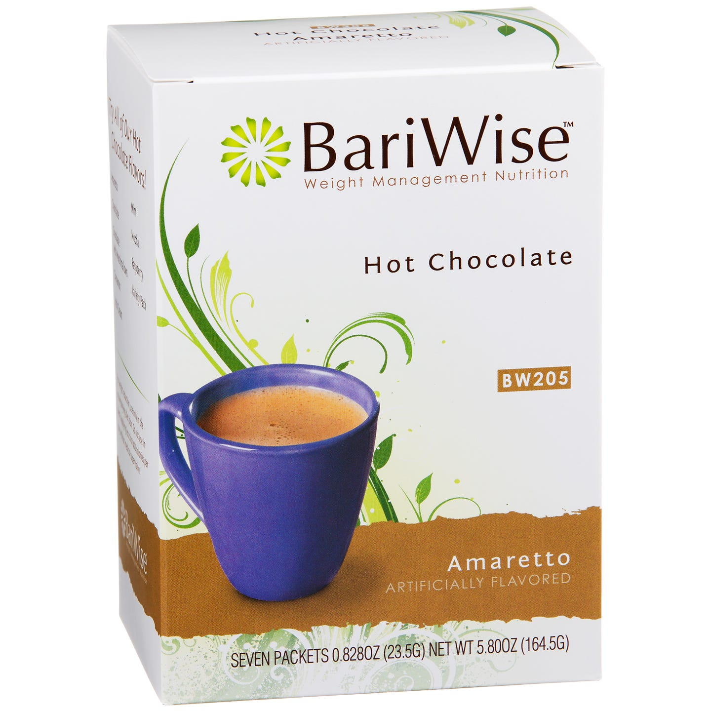 BariWise Protein Diet Hot Chocolate - Amaretto