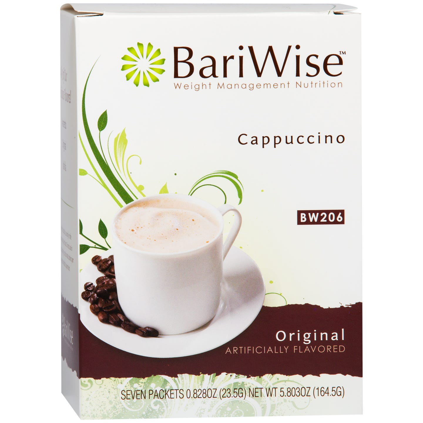 Protein Diet Cappuccino Original (7 ct) - BariWise - Rapid Diet Weight Loss Products Shop