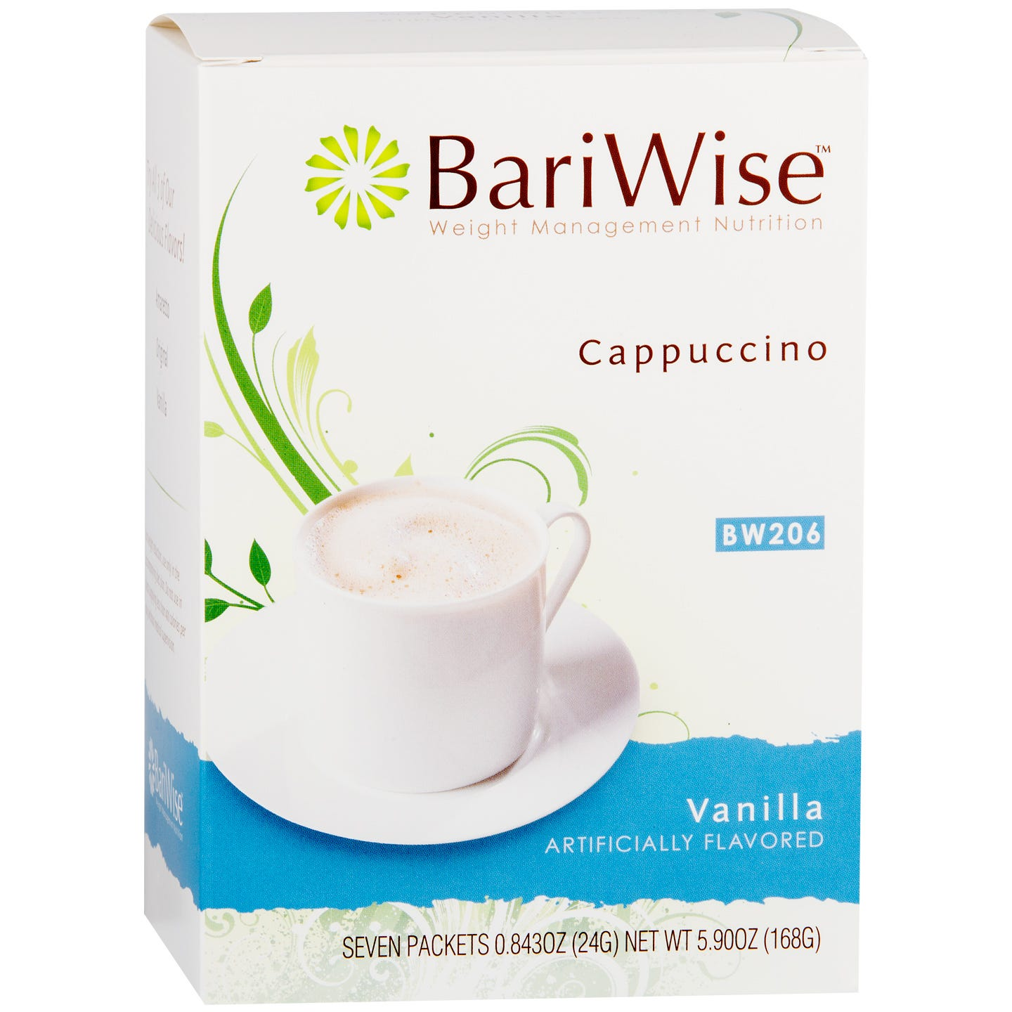 Protein Diet Cappuccino Vanilla (7 ct) - BariWise - Rapid Diet Weight Loss Products Shop