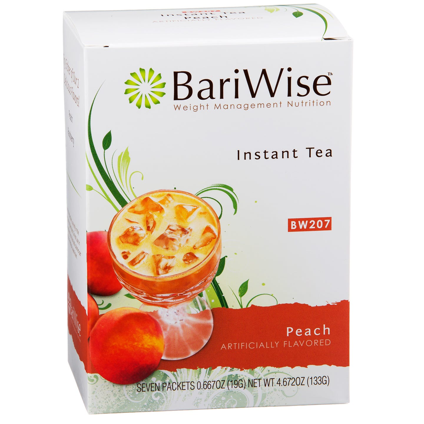 Protein Instant Tea Peach (7 ct) - BariWise - Rapid Diet Weight Loss Products Shop