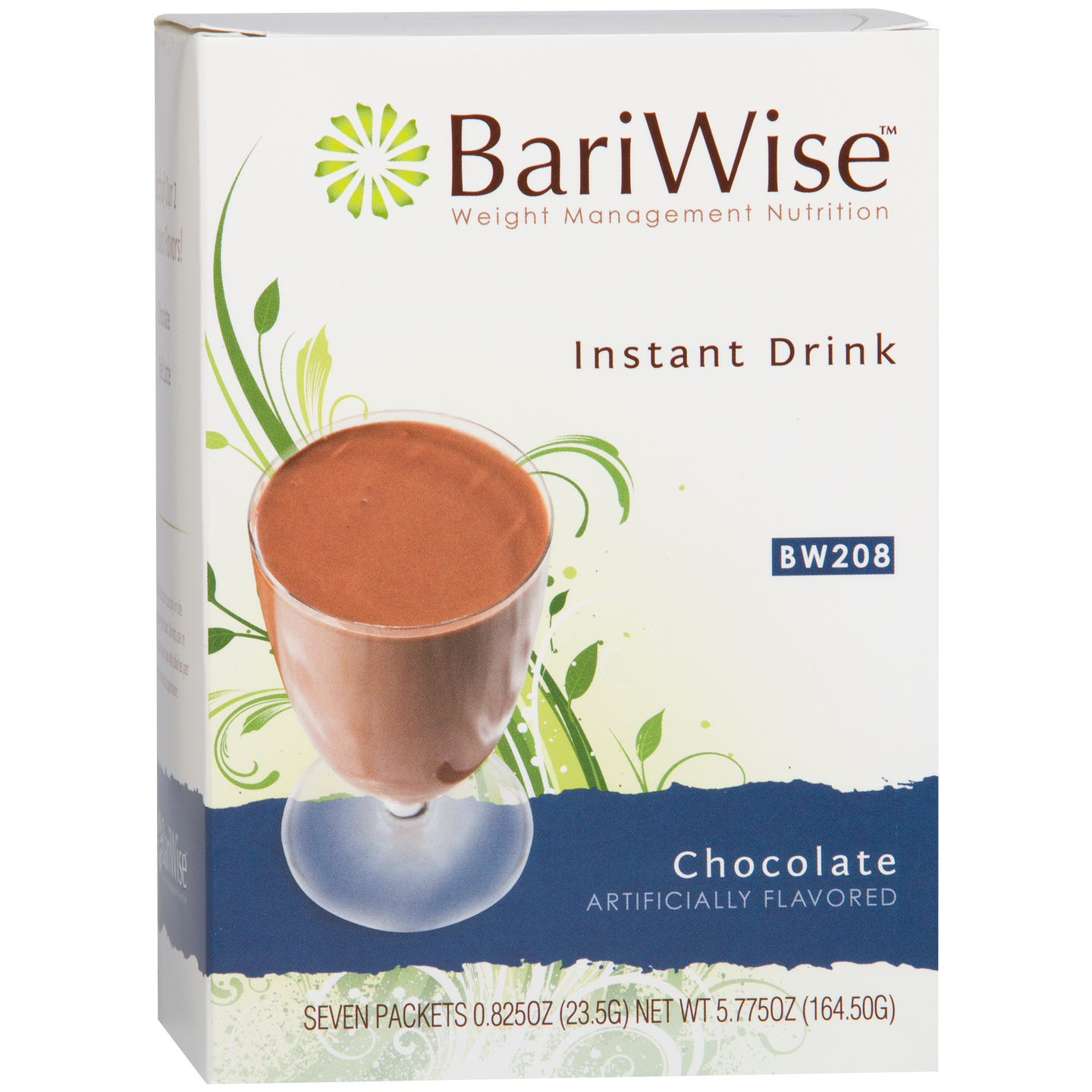 BariWise Instant Protein Drink (7 ct) - Chocolate - Rapid Diet Weight Loss Products Shop