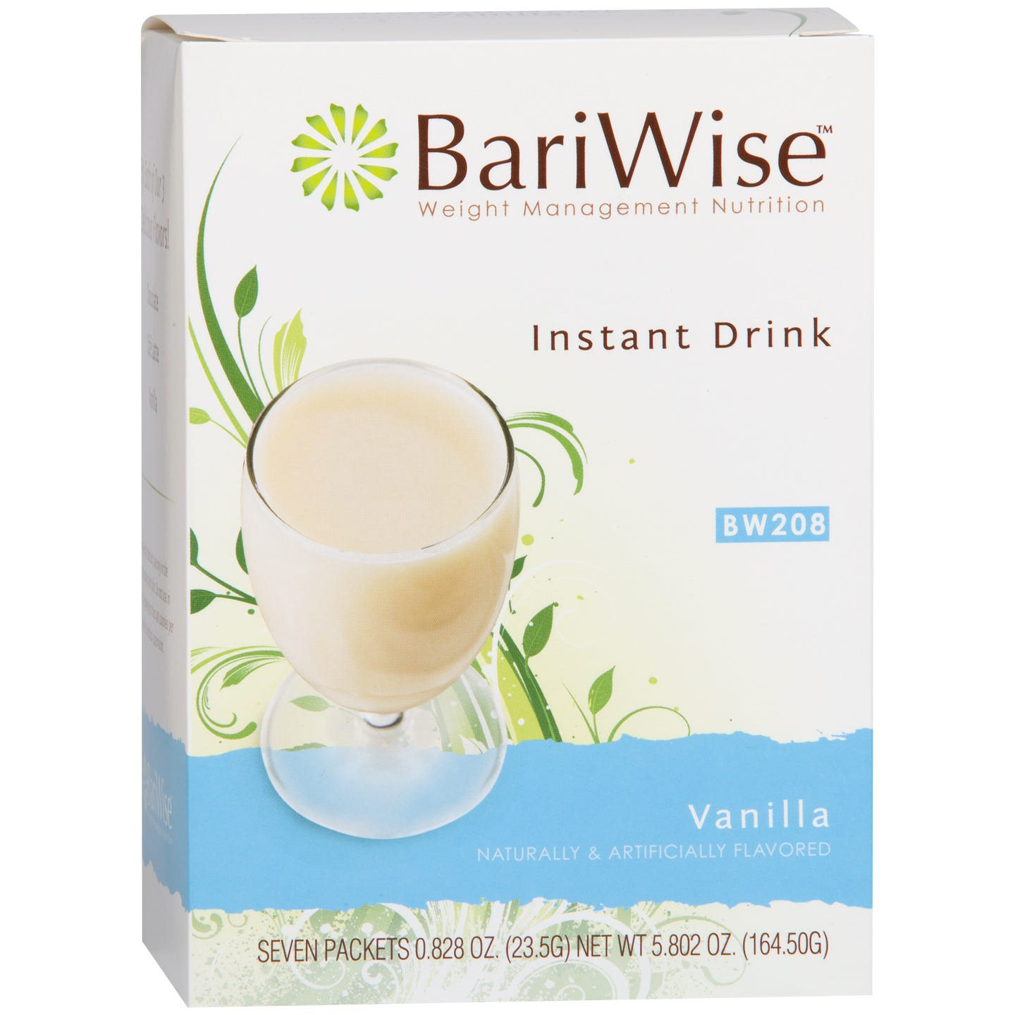 BariWise Instant Protein Drink (7 ct) - Vanilla - Rapid Diet Weight Loss Products Shop