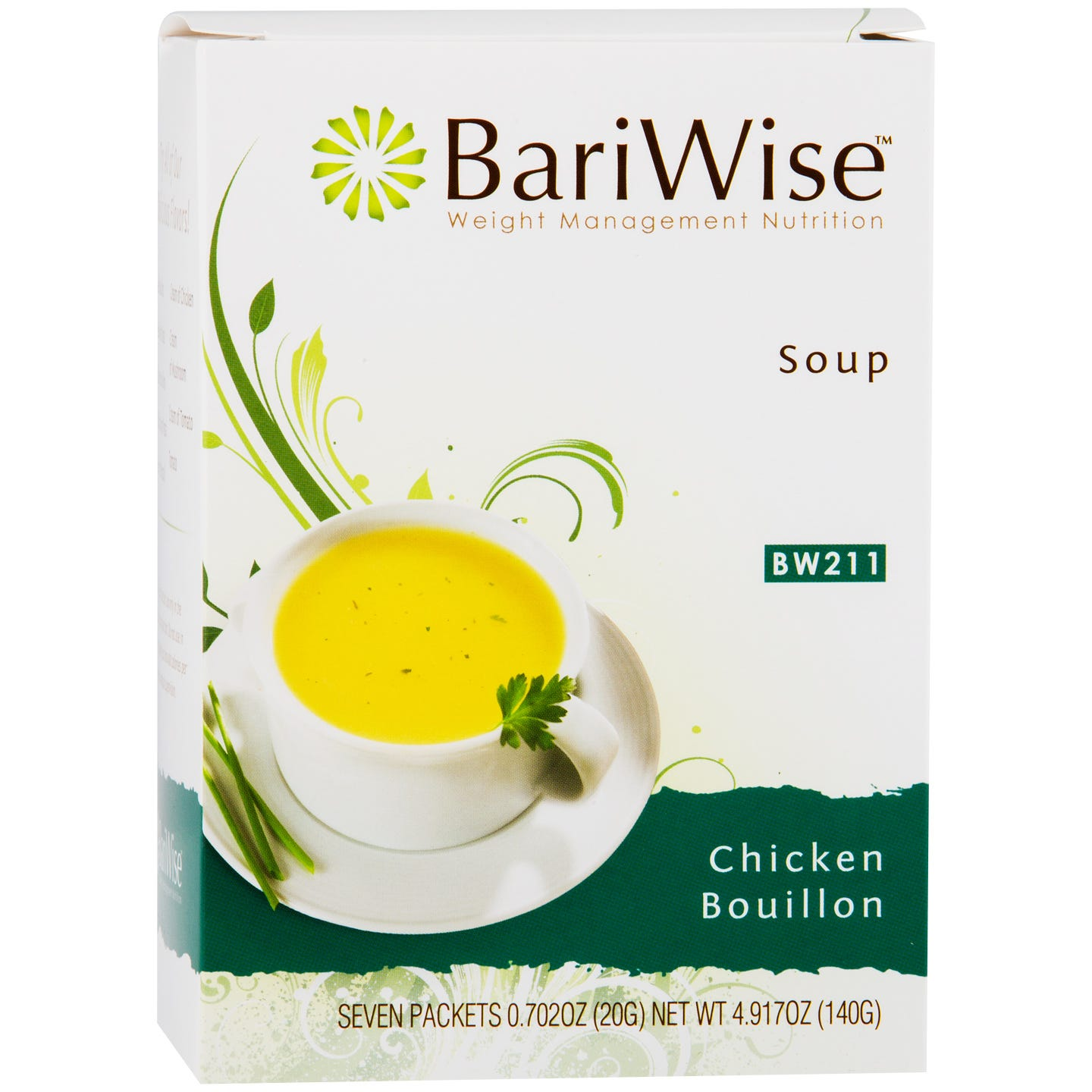 Protein Diet Soup Chicken Bouillon (7 ct) - BariWise - Rapid Diet Weight Loss Products Shop