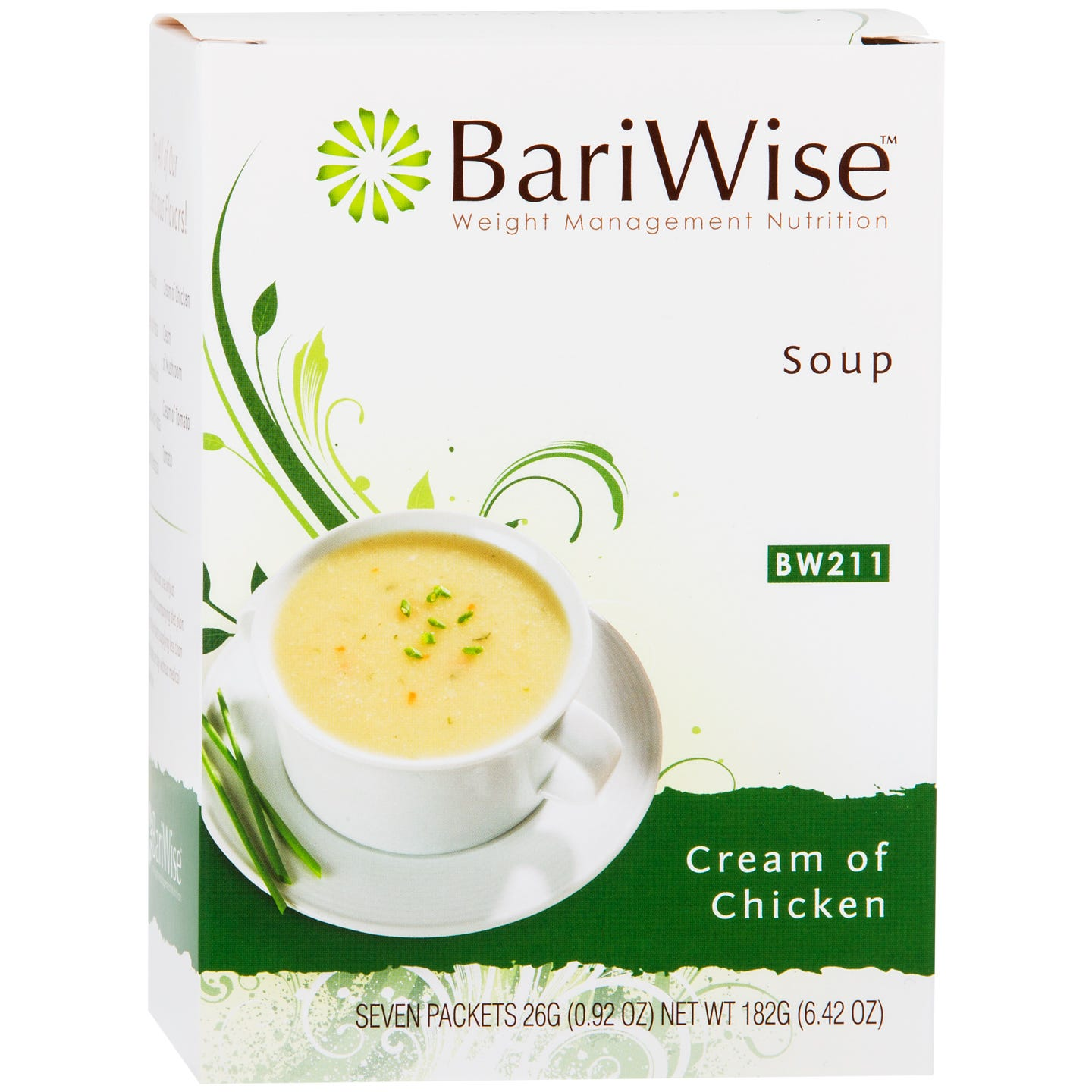 Protein Diet Soup Cream Of Chicken (7 Ct) - BariWise