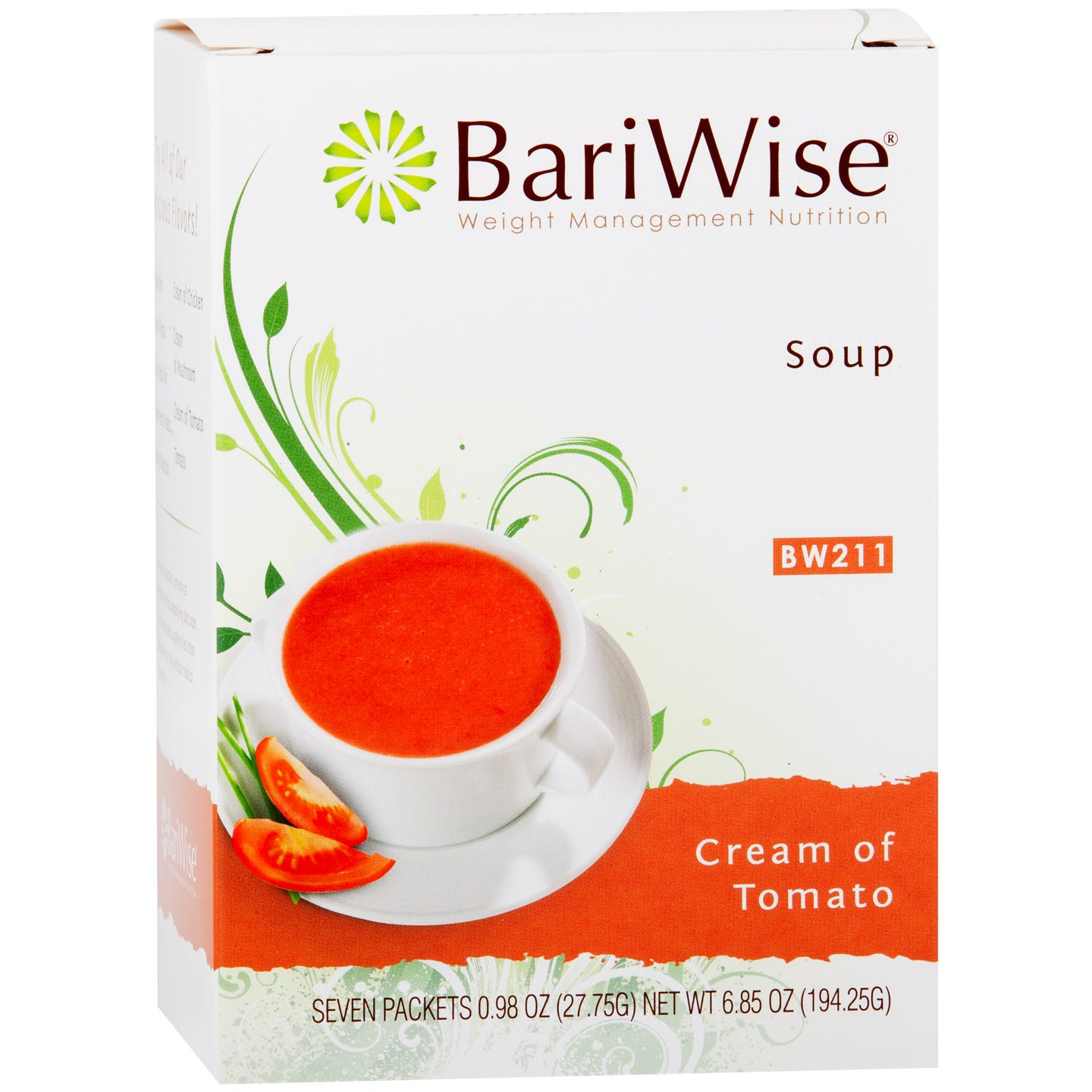 Protein Diet Soup Cream Of Tomato (7 Ct) - BariWise