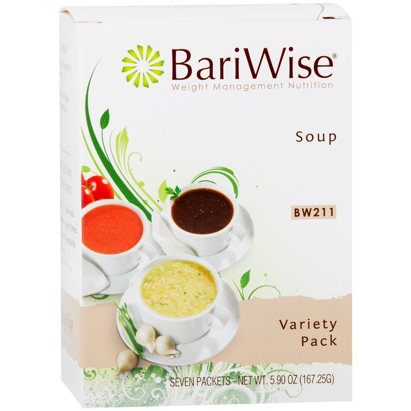 BariWise Soup, Variety Pack (7ct)