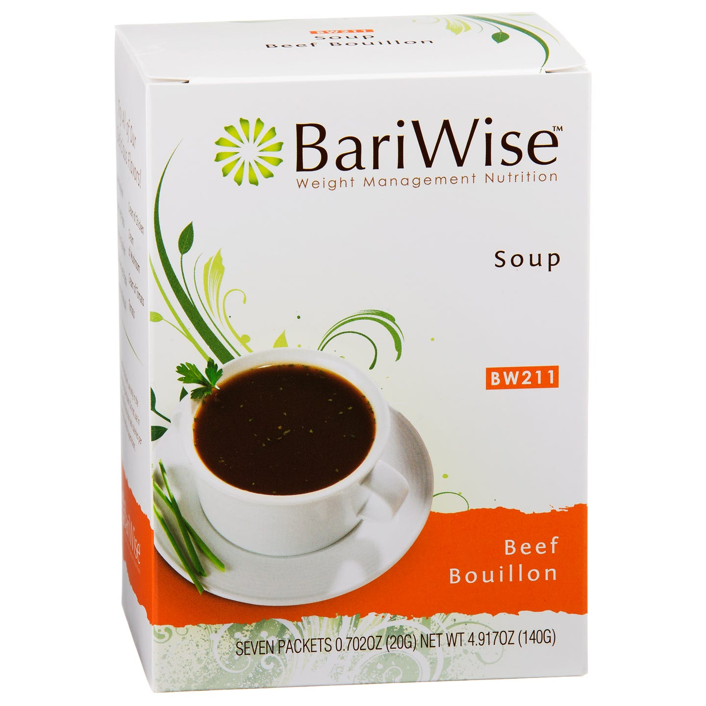 Protein Diet Soup Beef Bouillon (7 ct) - BariWise - Rapid Diet Weight Loss Products Shop