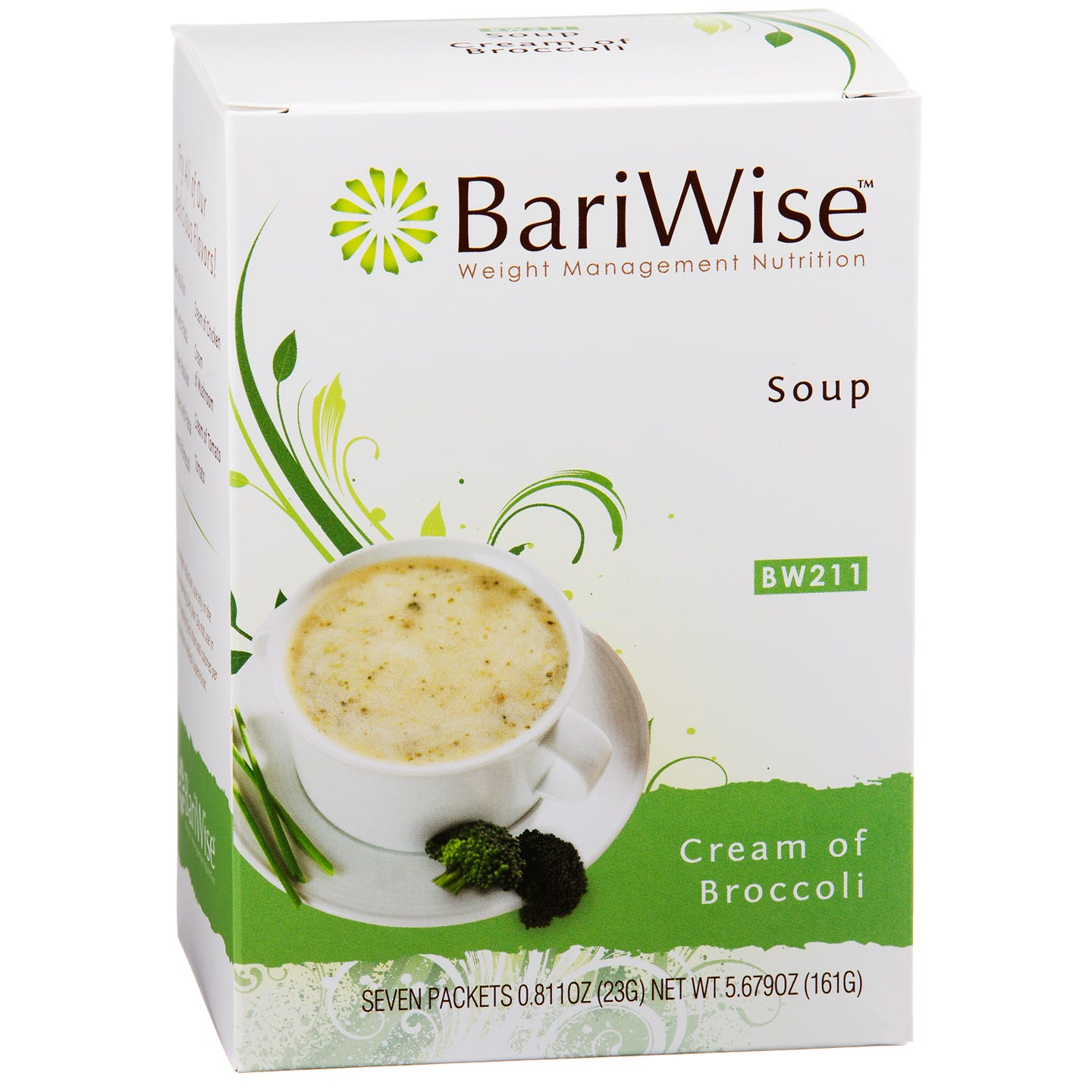 Protein Diet Soup Cream of Broccoli (7 ct) - BariWise - Rapid Diet Weight Loss Products Shop