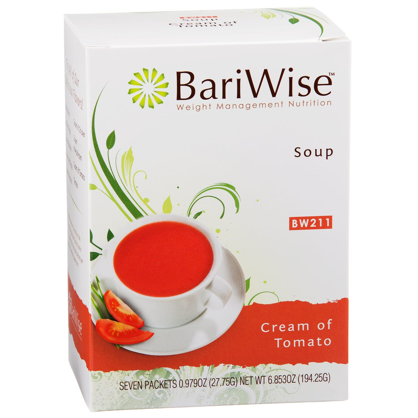 Protein Diet Soup Cream of Tomato (7 ct) - BariWise - Rapid Diet Weight Loss Products Shop