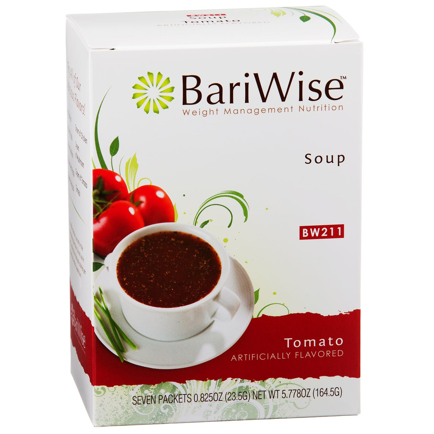 Protein Diet Soup Tomato (7 ct) - BariWise - Rapid Diet Weight Loss Products Shop