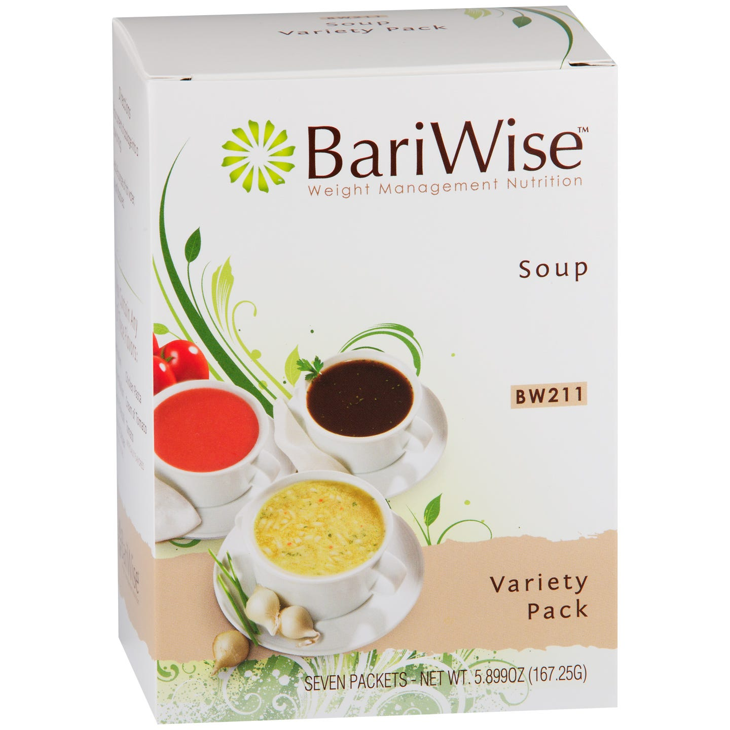 Protein Diet Soup Variety Pack (7 ct) - BariWise - Rapid Diet Weight Loss Products Shop