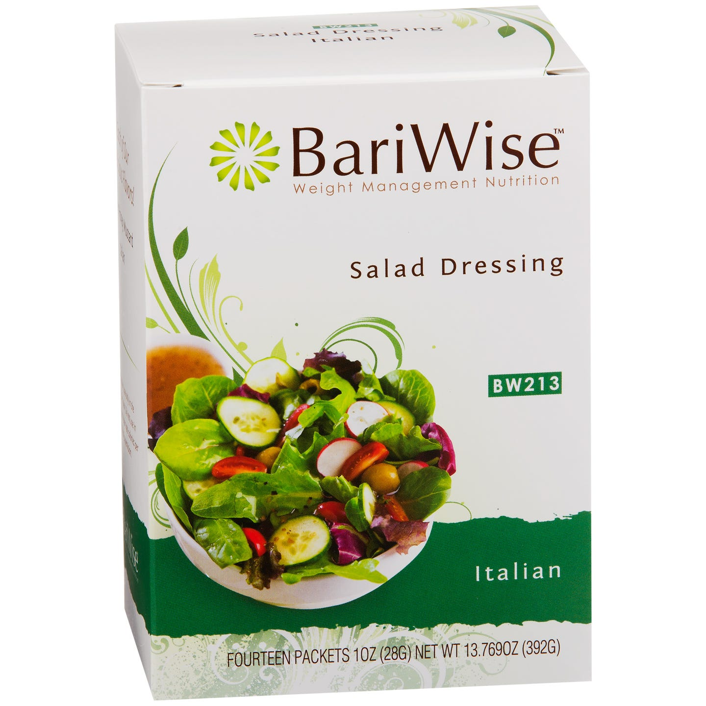 Fat-Free Diet Salad Dressing Italian (14 ct) - BariWise - Rapid Diet Weight Loss Products Shop