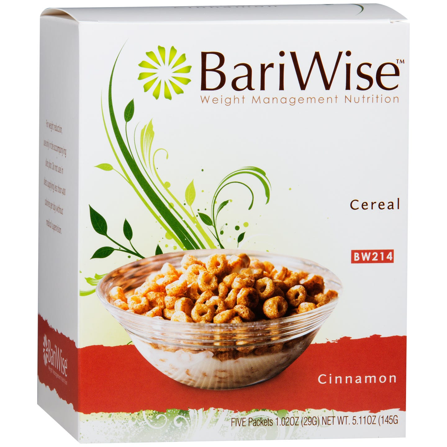Protein Diet Cereal Cinnamon (5 ct) - BariWise - Rapid Diet Weight Loss Products Shop