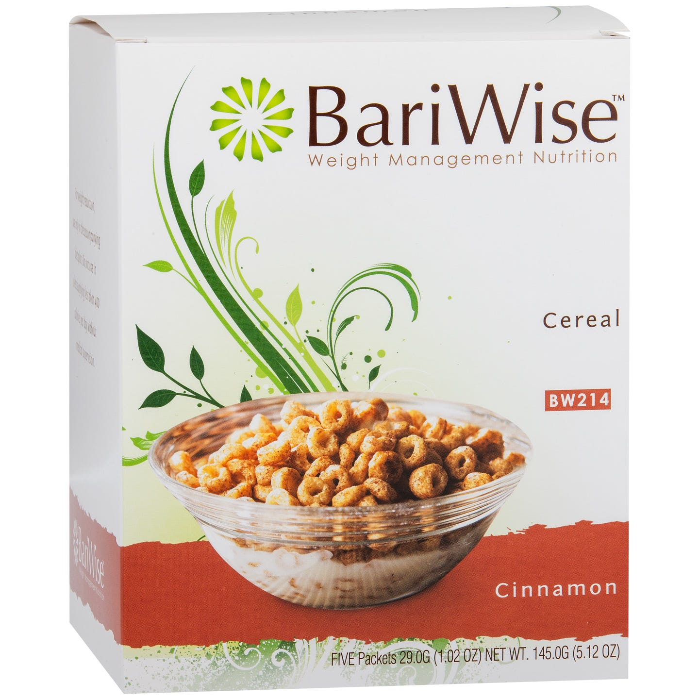 Protein Diet Cereal Cinnamon (5 ct) – BariWise