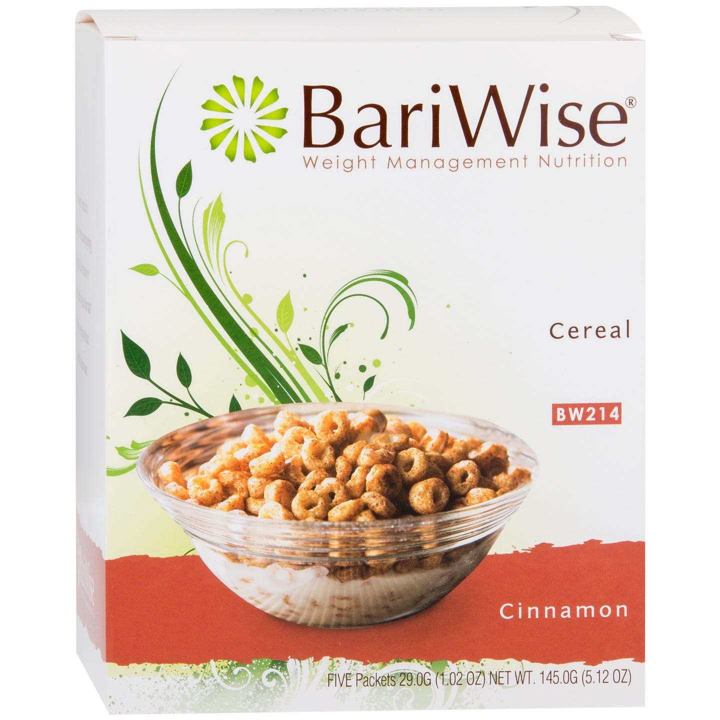 BariWise Cereal, Cinnamon (5ct)