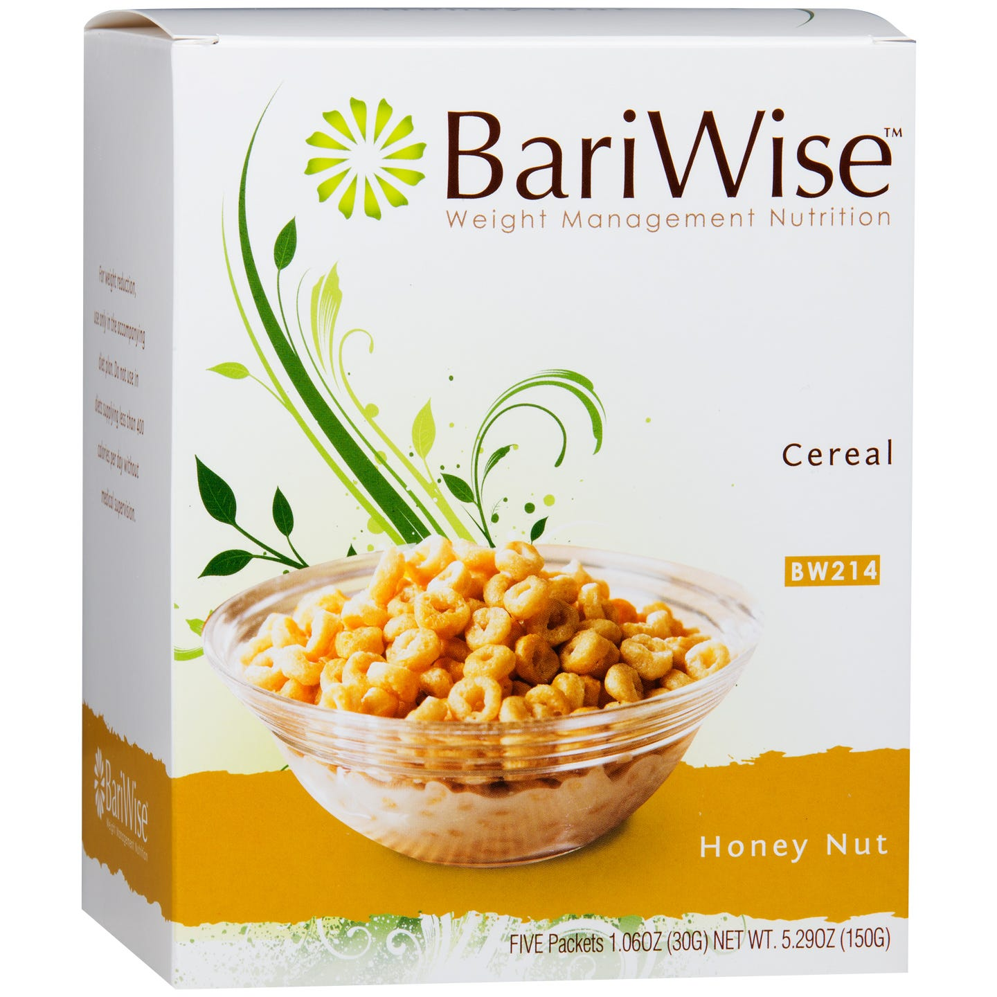 Protein Diet Cereal Honey Nut (5 ct) - BariWise - Rapid Diet Weight Loss Products Shop