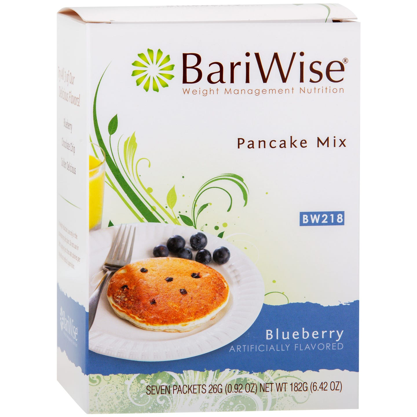 Protein Diet Pancake Mix Blueberry (7 Ct) - BariWise