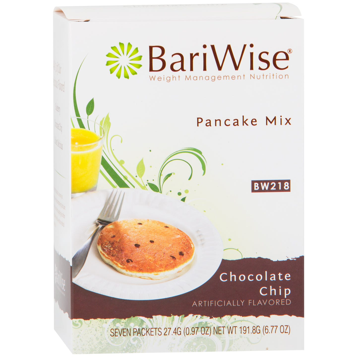 Protein Diet Pancake Mix Chocolate Chip (7 Ct) - BariWise