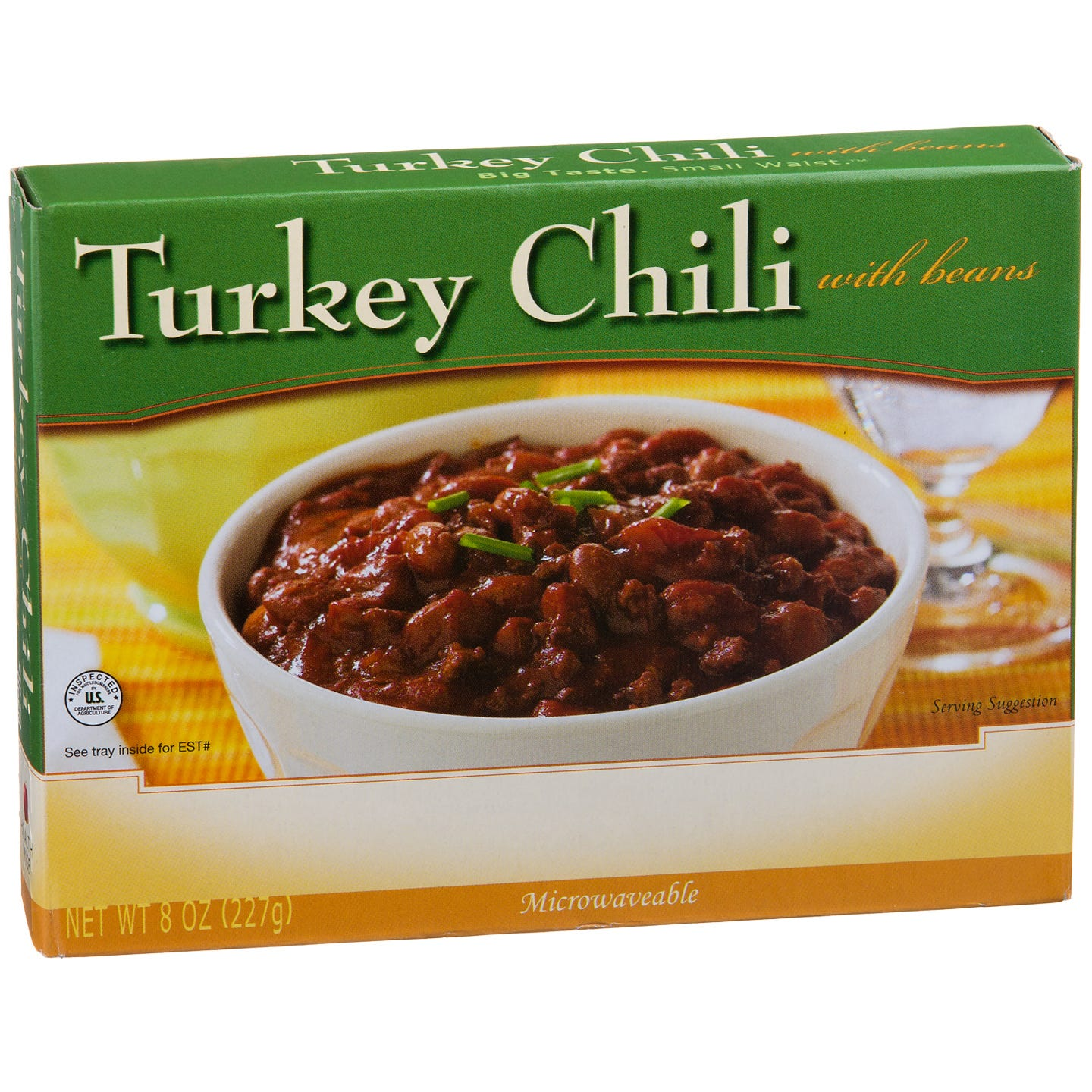 Low Calorie Meal Turkey Chili 8 Oz  BariWise