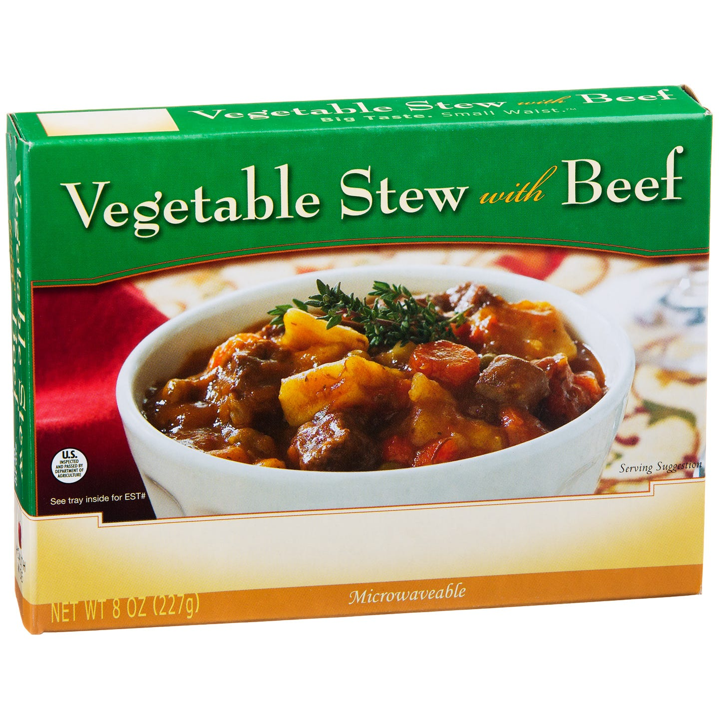 Low Calorie Meal Vegetable Stew With Beef 8 Oz  BariWise