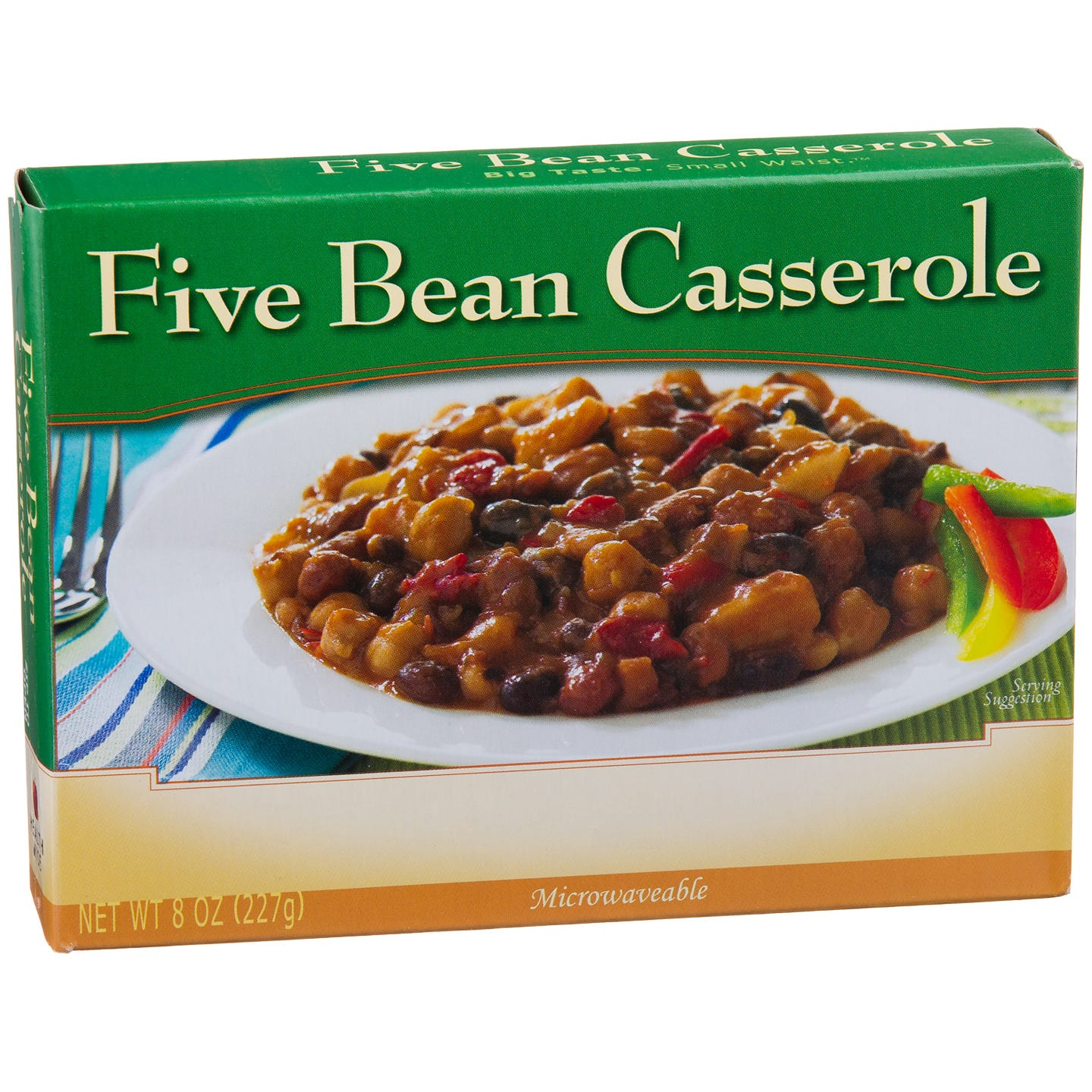 Low Calorie Meal Five Bean Casserole 8 Oz Bariwise image