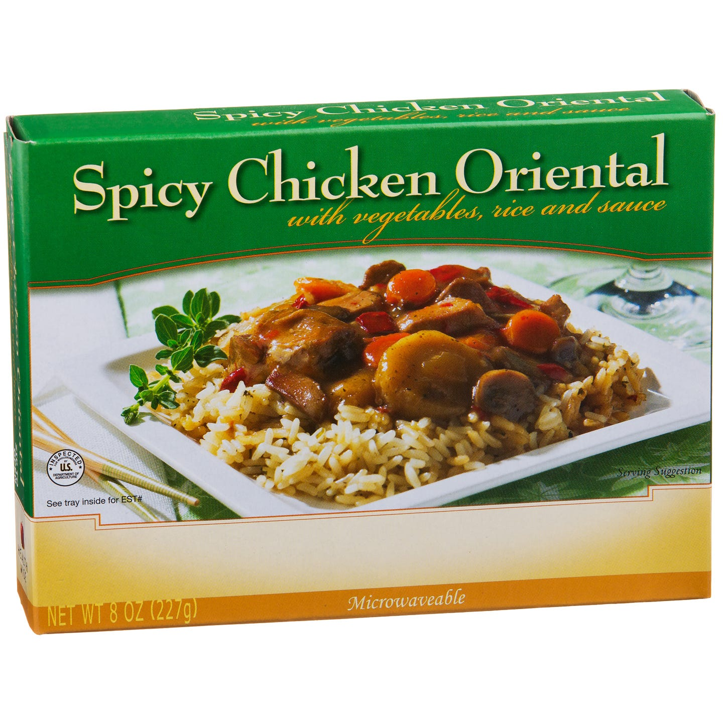 Low Calorie Meal Spicy Chicken Oriental 8 Oz  BariWise