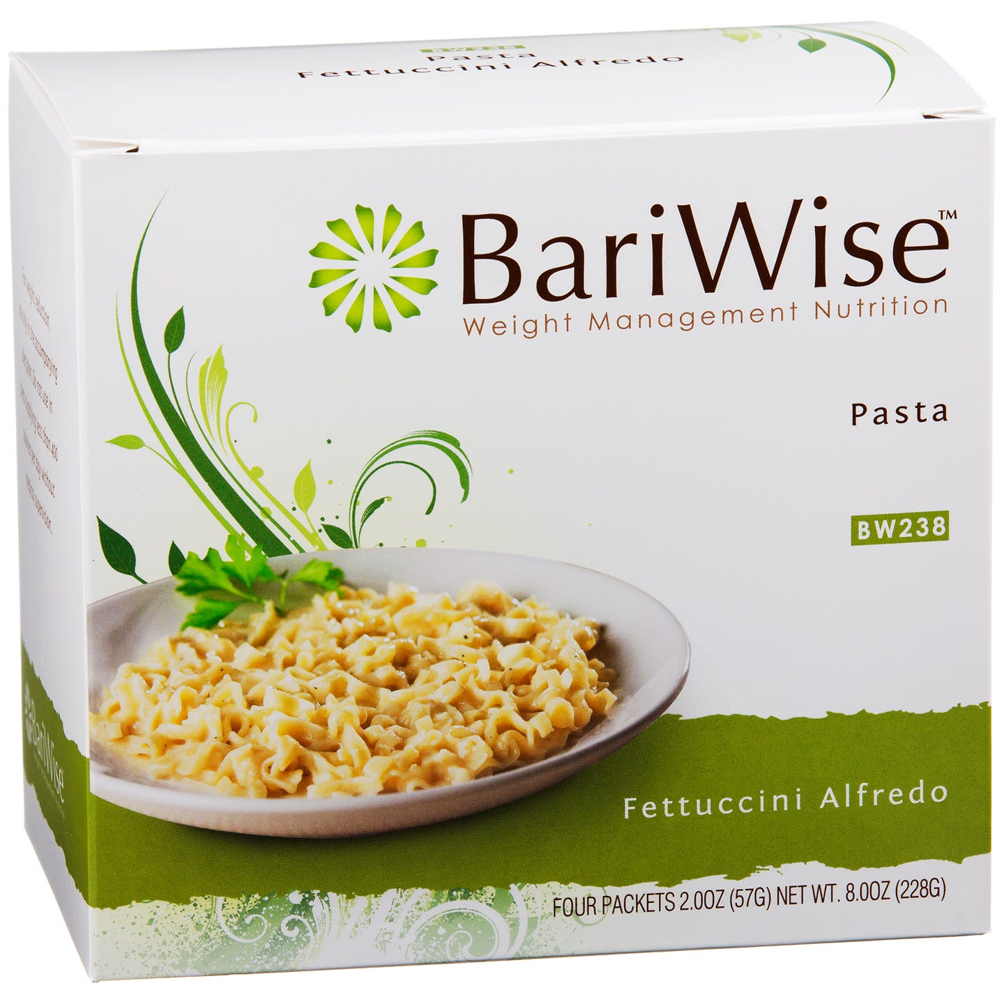 Fettuccini Alfredo Pasta (4 ct) - BariWise - Rapid Diet Weight Loss Products Shop