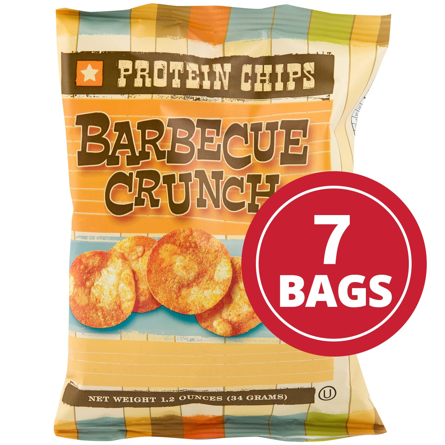 Protein Potato Chips Barbecue (7 Ct) - BariWise