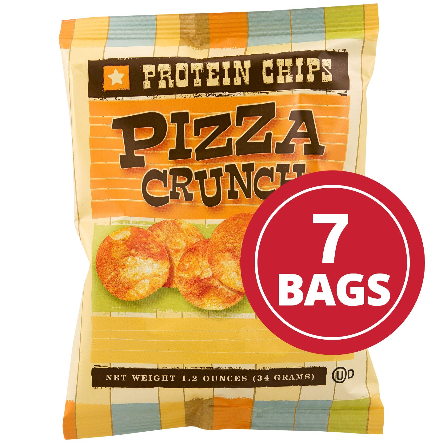 Protein Potato Chips Pizza (7 Ct) - BariWise