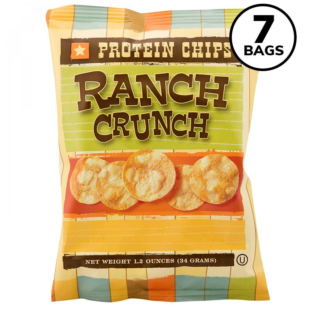 BariWise Protein Potato Chips, Ranch (7ct)