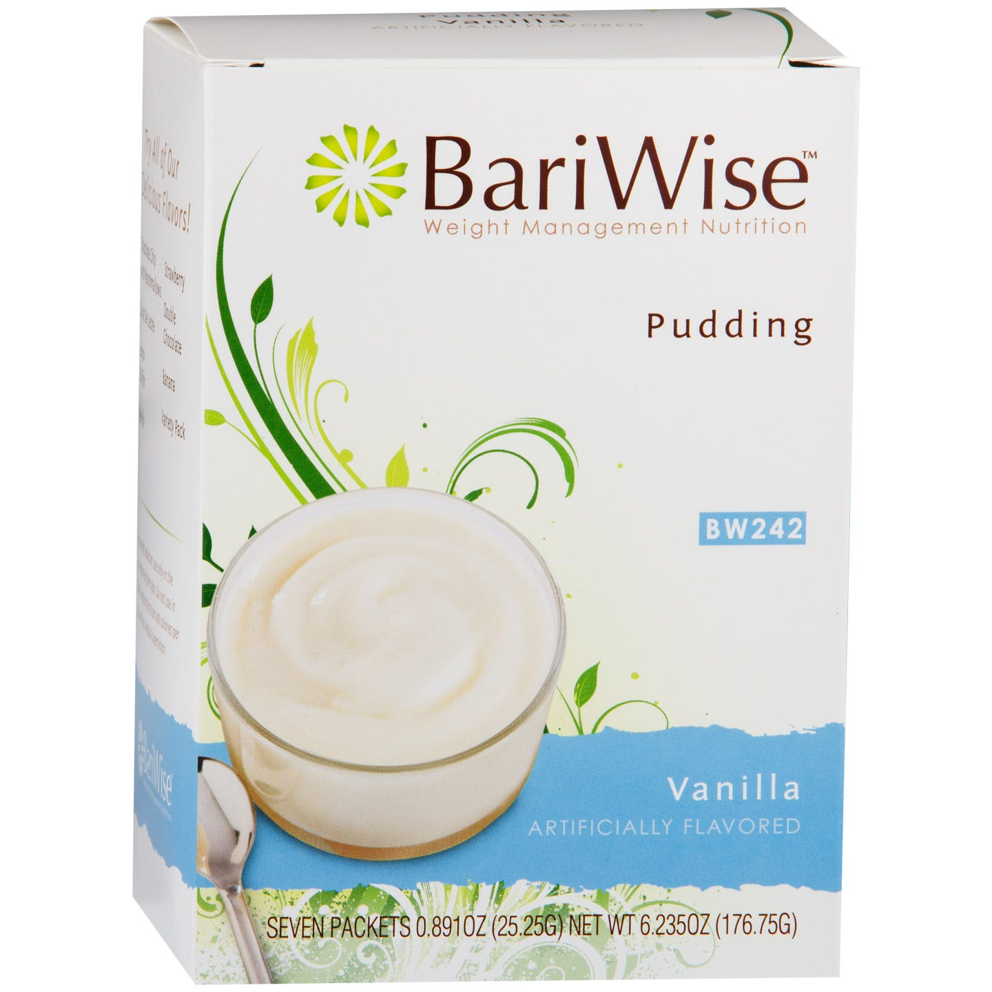 Diet Protein Pudding Vanilla (7 ct) - BariWise - Rapid Diet Weight Loss Products Shop