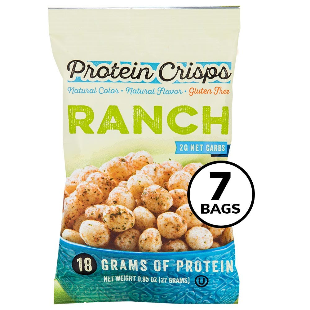 BariWise Protein Crisps, Ranch (7ct)