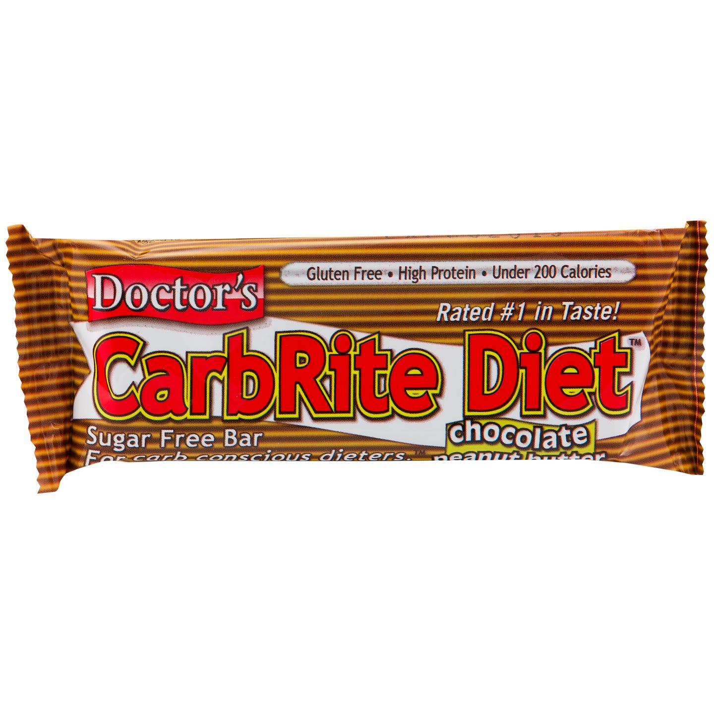 Doctor's CarbRite Diet Protein Bars - Chocolate Peanut Butter