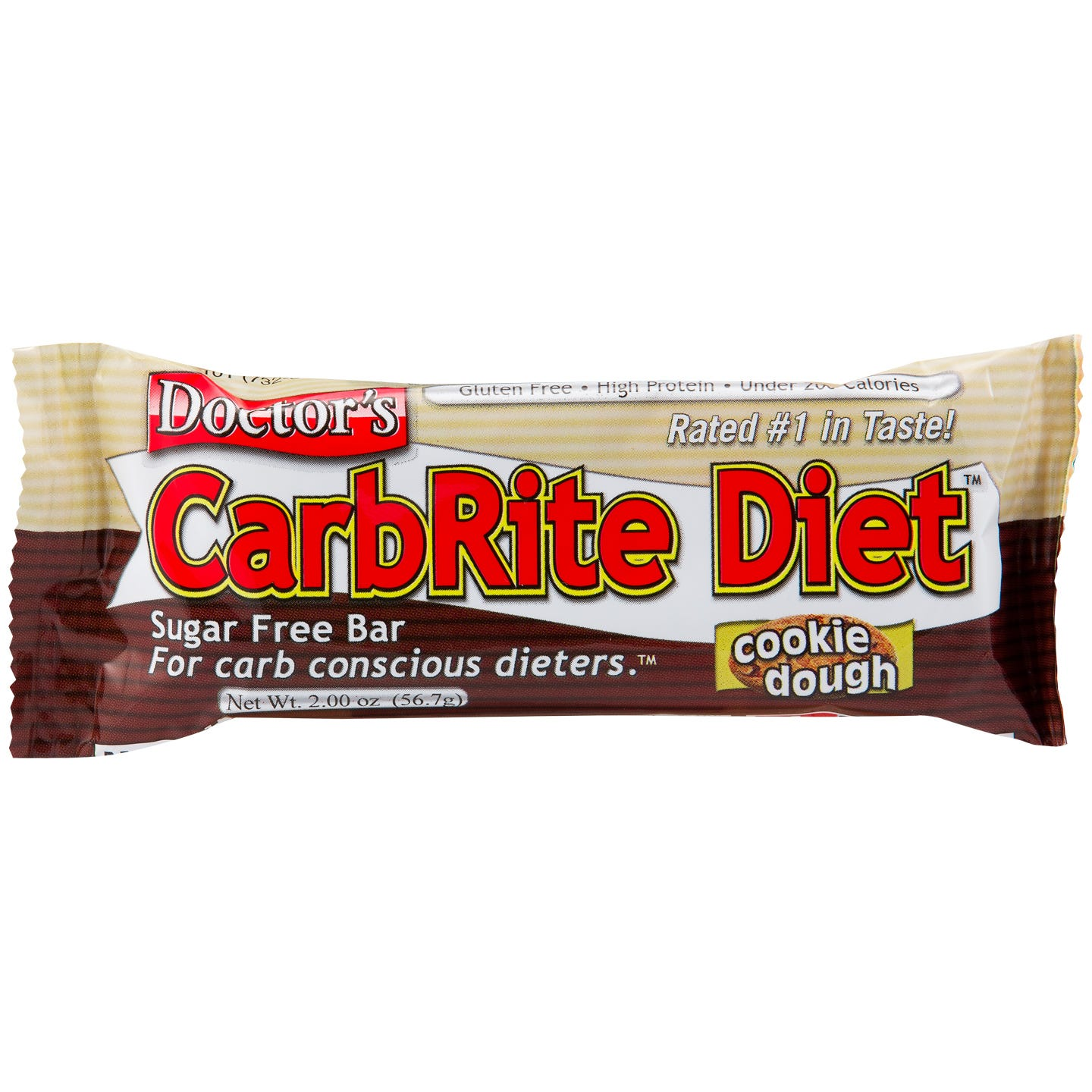 Doctor's CarbRite Diet Protein Bars - Cookie Dough