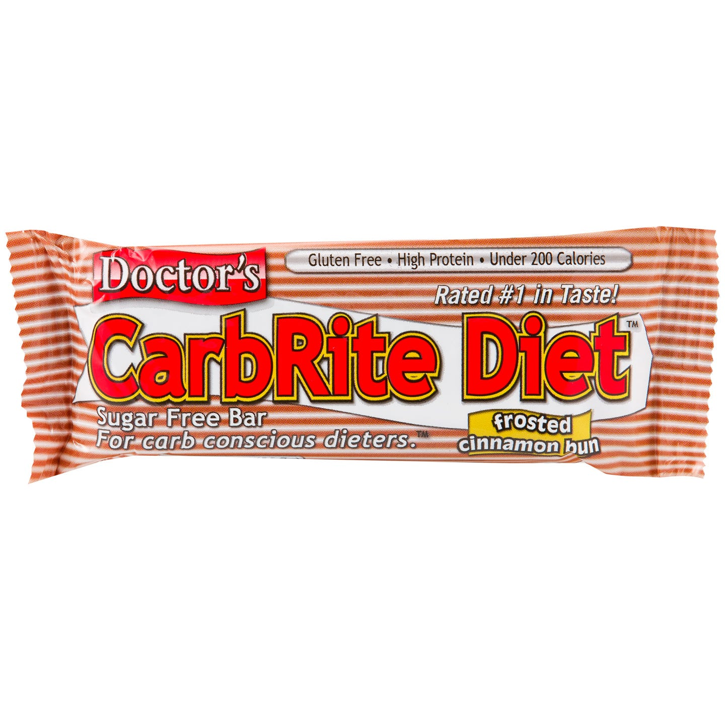 Doctor's CarbRite Diet Protein Bars - Frosted Cinnamon Bun