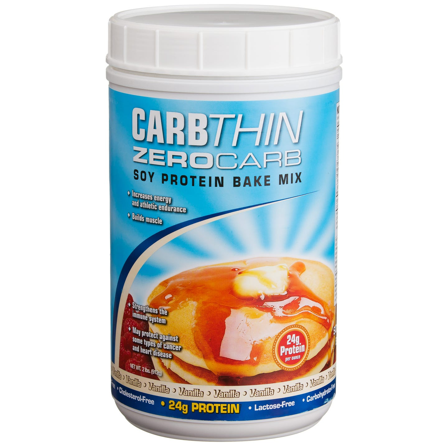 CarbThin Zero Carb Soy Protein Bake Mix - Vanilla