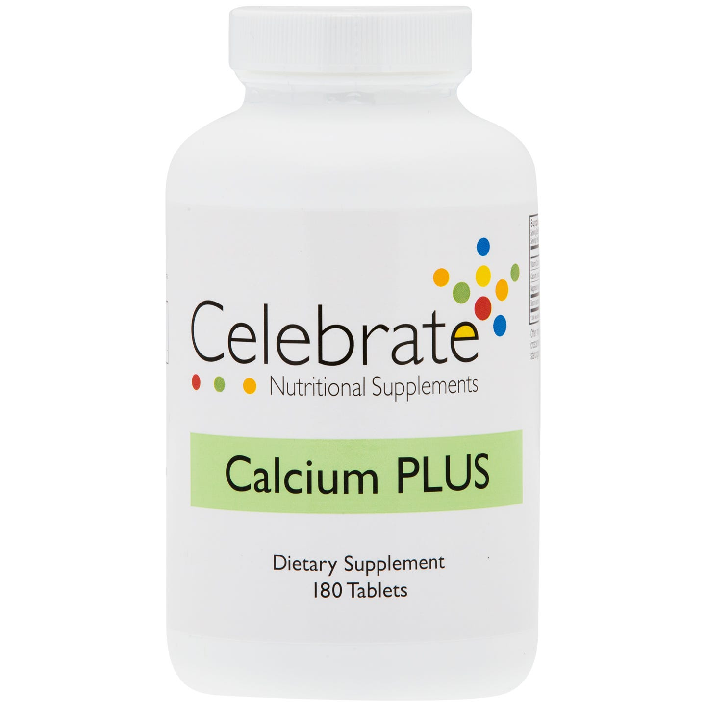 Calcium PLUS Tablet (180 ct) - Celebrate - Rapid Diet Weight Loss Products Shop