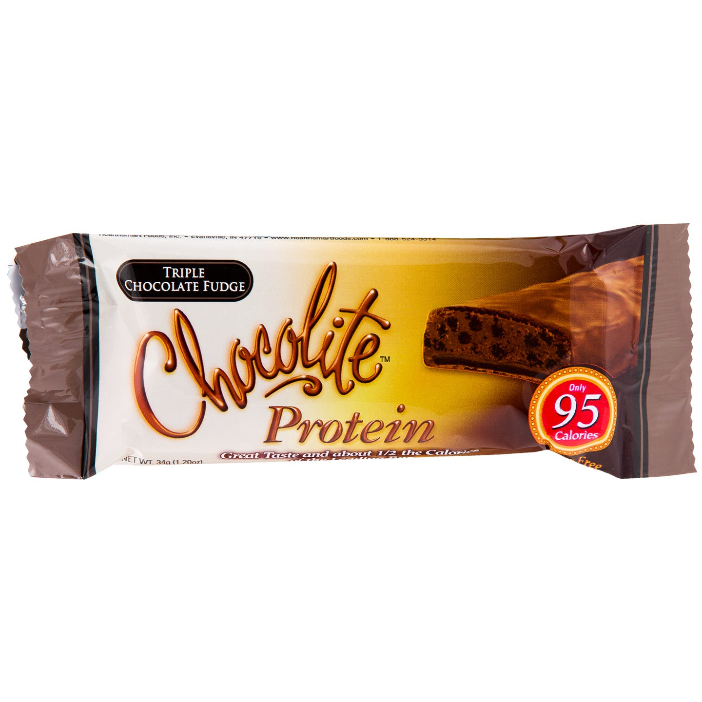 Chocolite Sugar-Free Protein Bars - Triple Chocolate Fudge