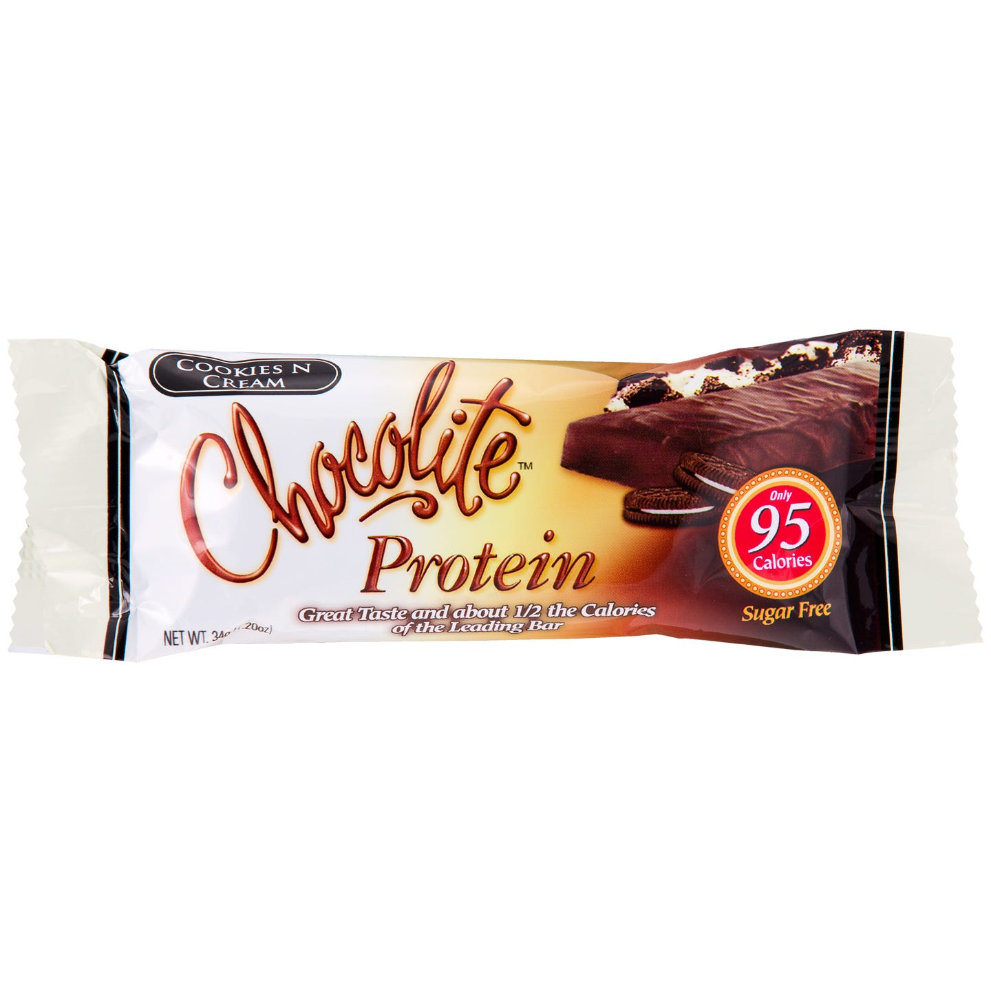 Chocolite Sugar-Free Protein Bars - Cookies & Cream