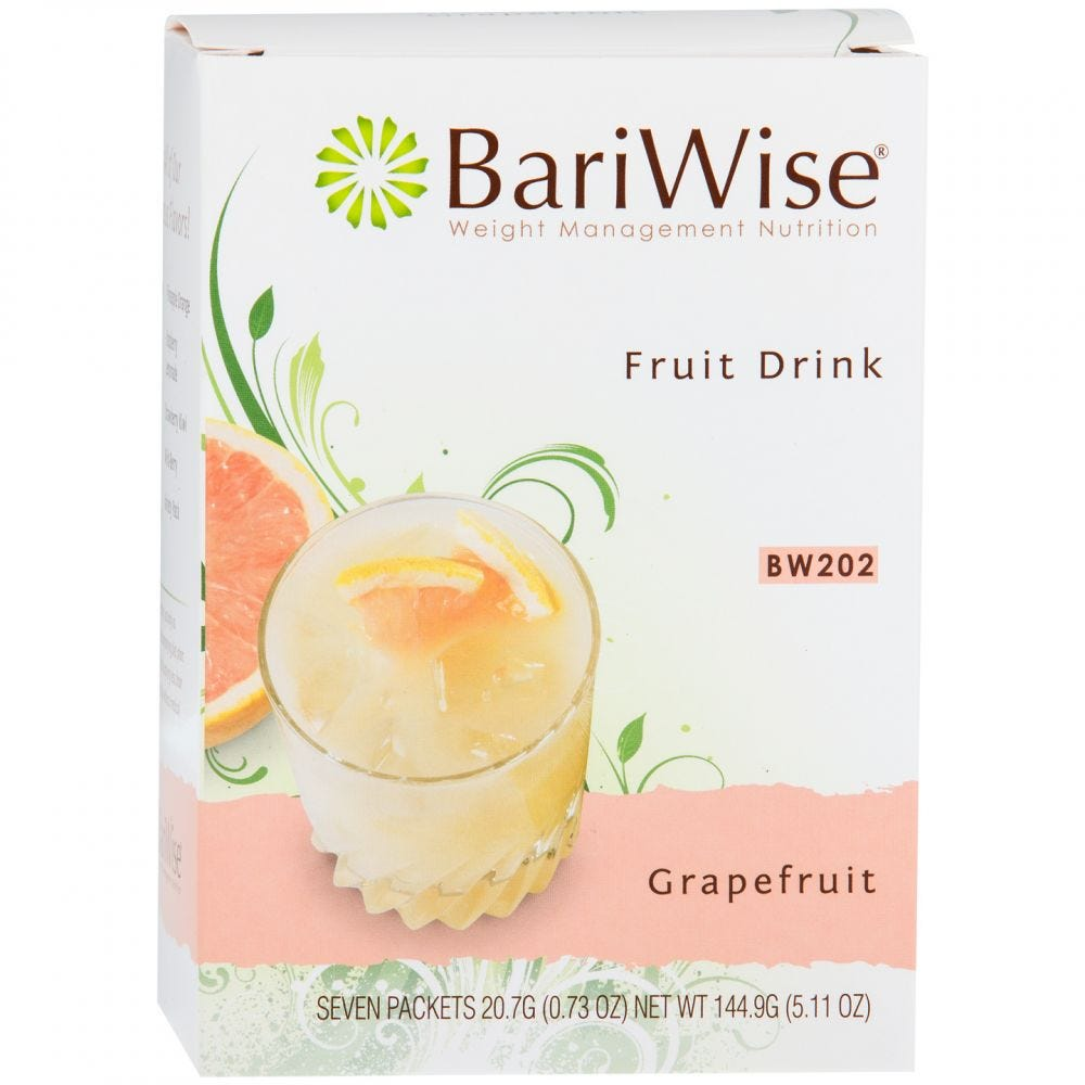 picture of BariWise Fruit Drink Grapefruit (7ct)