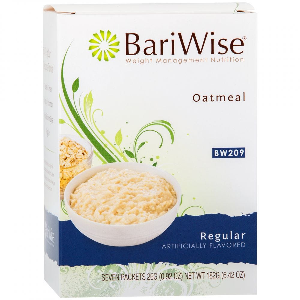 picture of BariWise Oatmeal Regular (7ct)