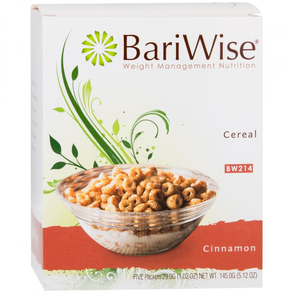 BariWise Cereal Cinnamon (5ct)