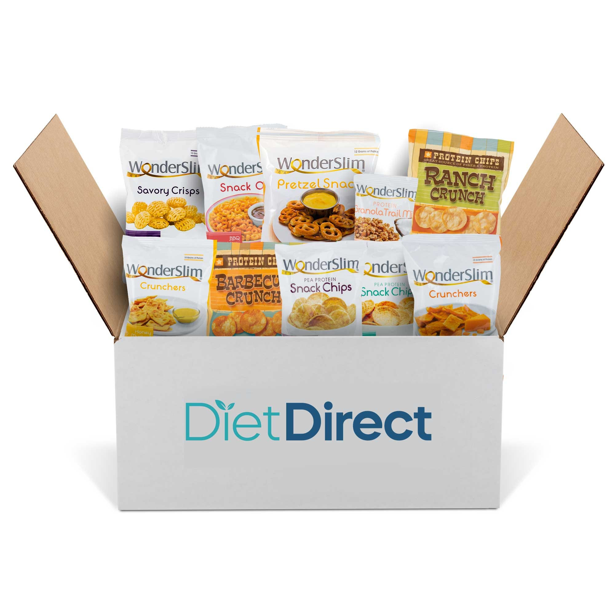 Diet Direct High Protein Snack Box, (15 Ct)