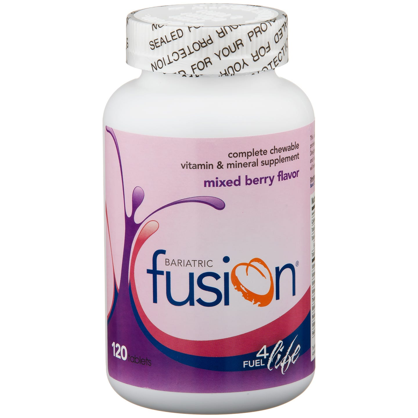 Bariatric Fusion Chewable Vitamin & Mineral Supplement - Mixed Berry